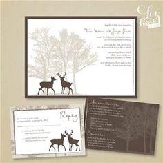 deer wedding invitations - Bing Images