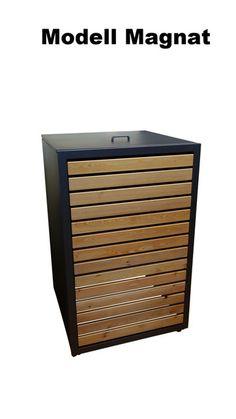 m lltonnenboxen von riba projekt versch nern den eingangsbereich ihres hauses m lltonnenbox. Black Bedroom Furniture Sets. Home Design Ideas