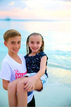 Johnny Orlando with His Sister | Retweets 94 Favorites 238
