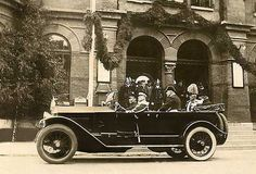 1924 Lancia Trikappa with the King of Sweden