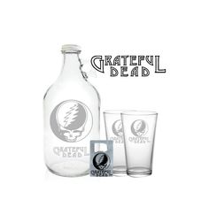 Grateful Dead Growler 64oz Beer Growler with by PeerlessCustom