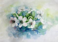 cherry blossom by chauchan.deviantart.com on @DeviantArt