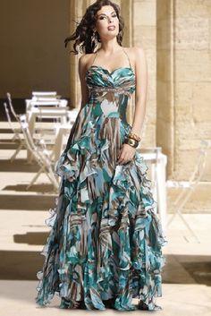 camo prom dress for sale