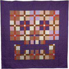 Demise by Boo Davis of Quiltsrÿche. www.quiltsryche.com. This stitching metal-head continually dares to be square. Love her work.