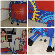 "@Mail4Rosey: One Step Ahead Kids Trampoline Review and #Giveaway ""The trampoline is a great way to let the kiddos burn up some energy. It's excellent for parents in that it's light enough to easily move from room to room, and you can do whatever you need to do while the kids are jumping safely and happily on their trampoline."""