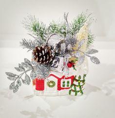 Santa houseMidcentury Vintage by ArtForYourHeartShop on Etsy