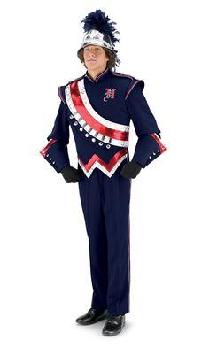 #marching band Color Guard Uniforms, Color Guard Flags, Marching Band Uniforms, Marching Bands, Winter Guard, Uniform Design, Punk, Music, Fashion