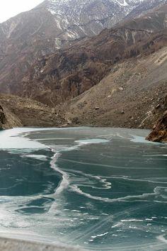Frozen Attabad Lake