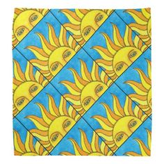 Summer Sun design by Michael Giza created on a bandana sold via Zazzle.