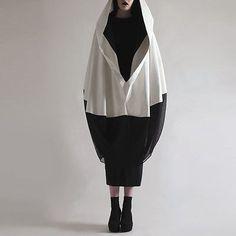 Beautiful Cape Design Hooded Poncho