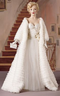 Image detail for -Marilyn Monroe - All About Eve Porcelain Doll by Franklin Mint
