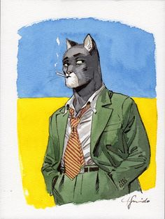 Blacksad T5 avec Ex-Libris Exclusif ! - only in comicshop Brüsel in Brussels, Belgium