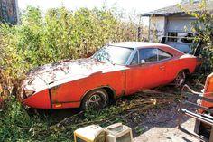 Automotive Archaeology: 1969 Dodge Charger Daytona Barn Find