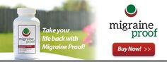 Migraine Proof - Nutritional Support for Migraine and Headache Sufferers with Vitamin B2 and Omega-3