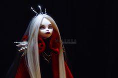 #Melenka #ooak #Monster #High #catrine #queen #repaint #custom #doll