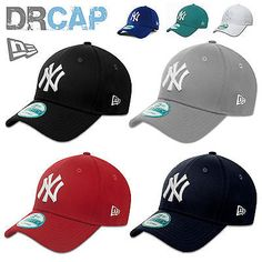 NEW ERA 9FORTY CURVED PEAK NEW YORK NY YANKEES ADJUSTABLE BASEBALL CAPS  55-61cm  b014db94d50