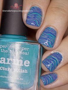 The Nailartopus | Nail Art Blog Philippines: Renamed my blog + Ocean Nail Art
