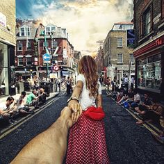the Brick Lane London. 1 September 2013 (the pic of the photo series by Russian Photographer, Murad Osmann) Lombok, Photomontage, Granada, Murad Osmann, Travel Around The World, Around The Worlds, Istanbul, Beautiful Girlfriend, Brick Lane