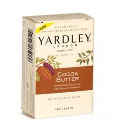 Yardley naturally moisturising bath soap bar 120g cocoa butter Bath Soap, Soap Bar, Body Spray, Cocoa Butter, Health And Beauty, Fragrance, Perfume, Pure Products, London