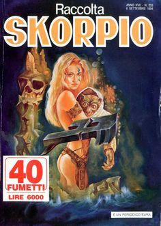 Fumetti EDITORIALE AUREA, Collana SKORPIO RACCOLTA n°233 SEPTEMBRE 1994