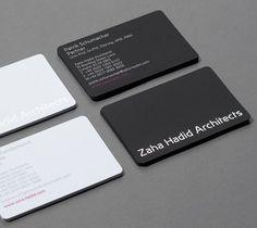 Zaha Hadid Architects Minimalist Business Cards Source by Minimalist Business Cards, Unique Business Cards, Business Card Logo, Business Card Design, Zaha Hadid, Architecture Business Cards, Mise En Page Portfolio, Visiting Card Design, Presentation Cards