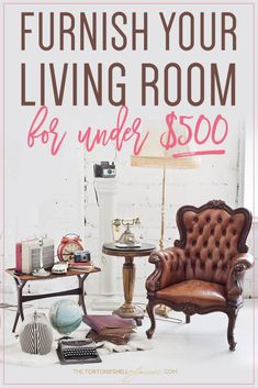 HOW I FURNISHED MY LIVING ROOM FOR UNDER 500