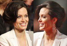 Angelina Jolie cute formal updos