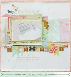 """Scrapbooking the end of an era. """"Finally done"""" by @jan issues issues K. Werner"""