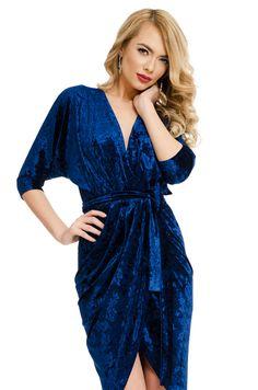 Order here www. Blue Dresses, Fashion, Dress, Moda, Fashion Styles, Fashion Illustrations