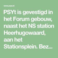 PSYt is gevestigd in het Forum gebouw, naast het NS station Heerhugowaard, aan het Stationsplein. Bezoekers met auto kunnen op het plein gratis parkeren.