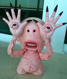 THE PALE MAN from Pan's Labyrinth...7' Munny by SillyK