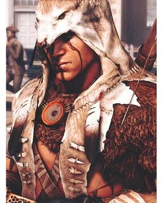 Connor, Assassin's Creed III: I would love a remastered version of this for Was one of my favorite video games! Assassins Creed Series, Assassins Creed Unity, Assassins Creed Origins, Connor Kenway, All Assassin's Creed, Edwards Kenway, New Energy, First Nations, Native American Indians