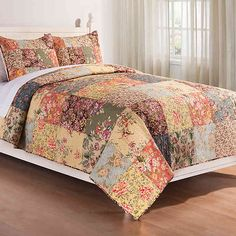 Rosalinda Reversible Quilt Set | Bed Bath & Beyond