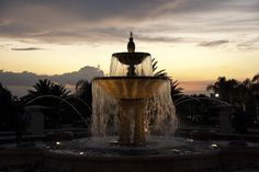 Sunset fountain 2 | Flickr - Photo Sharing!