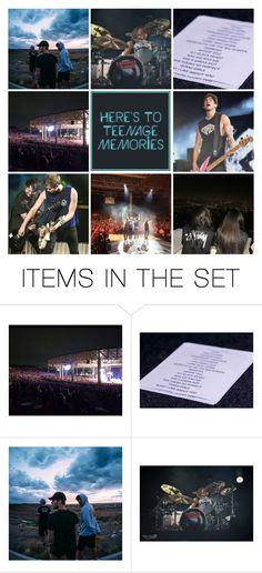 """""""Here's to Teenage Memories // #Happy5thBday5sos"""" by acc70913 ❤ liked on Polyvore featuring art"""