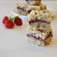 Old-World+Raspberry+Bars+Recipe+from+Land+O'Lakes