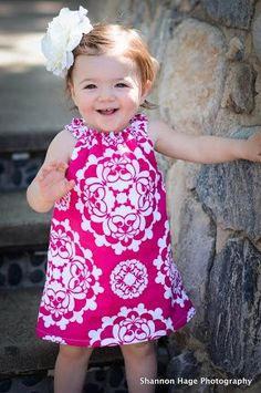 Girls Pink Floral Sundress Size 1218 months by BBELLECOUTURE, $38.95