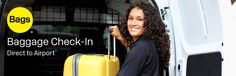 Bags Airline Check-in - Mandalay Bay Hotel & Casino - $24 for two bags for 2 people