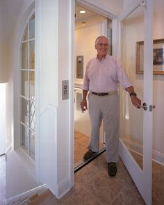 AA Lifts - Alternative Accessibility Lifts, Fort Wayne, IN - Home Elevators House Lift, Elevator Design, Aging In Place, House Elevation, Florida Home, My Dream Home, Home Remodeling, Vancouver, Building A House