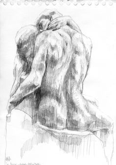 Mélanie Heller Illustration: Croquis au musée Rodin / Sketches at Rodin museum Life Drawing, Figure Drawing, Rodin Drawing, Rodin Museum, Musée Rodin, Gay Art, Art Studies, Pretty Art, Erotic Art