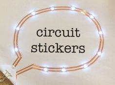 Here's a fun kit that you can use to make simple electronics, even wearable ones. Circuit Stickers are just that – electronics with adhesive backing. The star of the kit are the LED stickers. Put them on a conductive surface – wire, foil, conductive thread or fabric etc.