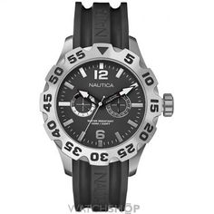 Mens Nautica BFD100 46mm Watch A16600G