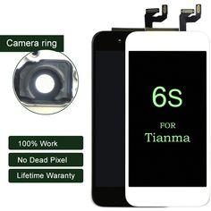 10PCS None Spot For Tianma quality For iPhone 6s LCD display Assembly with 3D Touch Screen Replacement Lens Pantalla