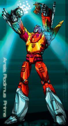 Arise, Rodimus Prime by ~molepunch on deviantART