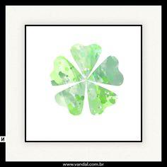 Sorte, verde, trevo