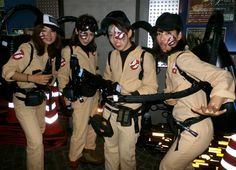 Japanese Female Ghostbusters Mean Business - Imgur
