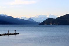Having positive thoughts is a great start... at Harrison Hot Springs, Canada.