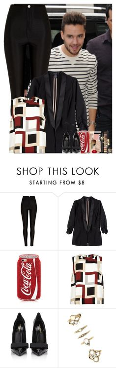 """""""Sans titre #681"""" by faanfic-1d ❤ liked on Polyvore featuring River Island, Stoosh, Yves Saint Laurent and Forever 21"""