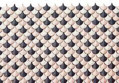 "Mosaique ""Plumage"" (design Cristina Celestino) - Botteganove"