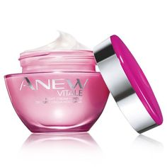 Introducing Anew Vitale powered by VitaToneComplex. Revive tired-looking skin after just one use. In one week, skin looks more even-toned and vibrant.. illuminated with that lit-from-within youthful looking glow. Suitable for all skin tones.  Look like you had 8 hours of sleep, even when you didn't. 1.7 oz. net wt.